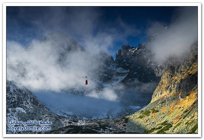 صور من أعلى جبل في بولندا
