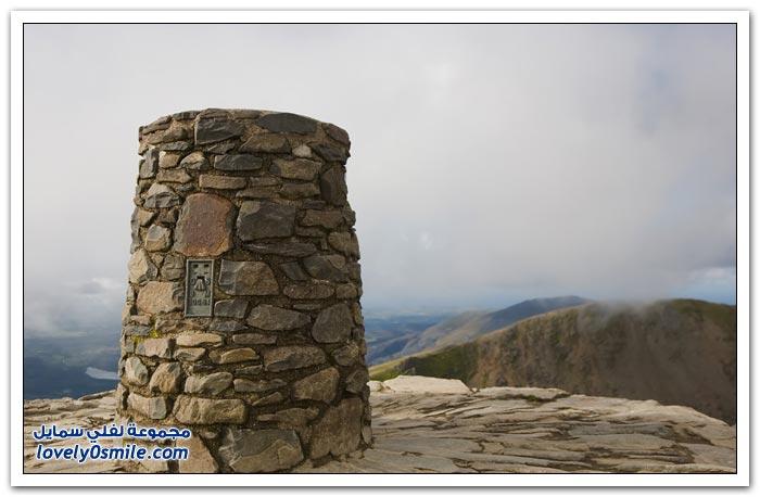 صور من أعلى جبل في ويلز
