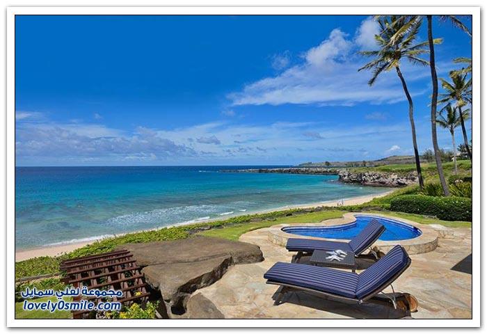 جوهرة القصر الفاخر في جزيرة ماوي في هاواي