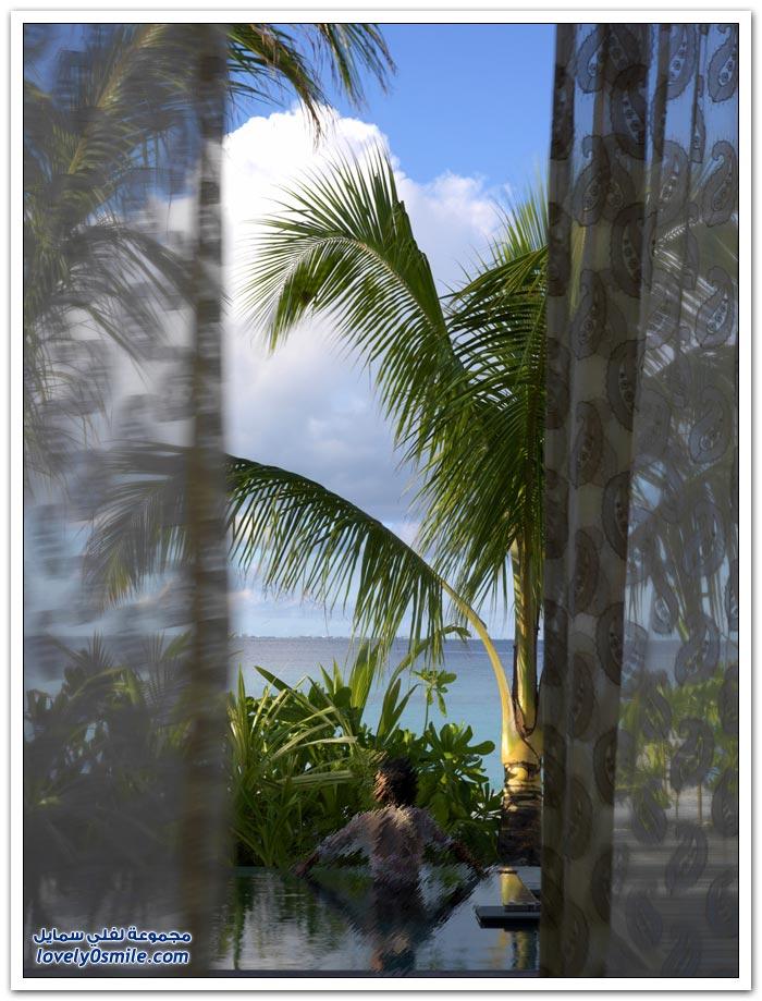 منتجع جميرا فيتافلي في جزر المالديف