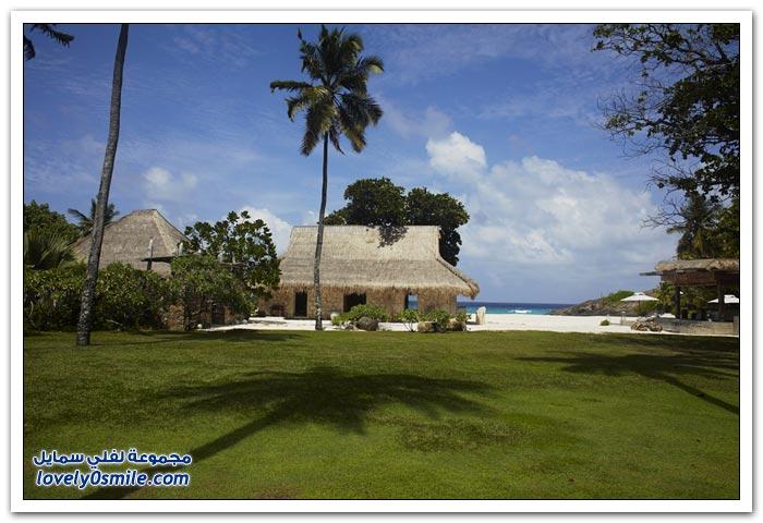 فندق فاخر في جزيرة سيشيل