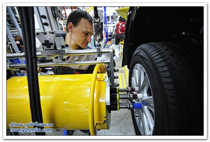 مصنع سيارات مازدا في روسيا