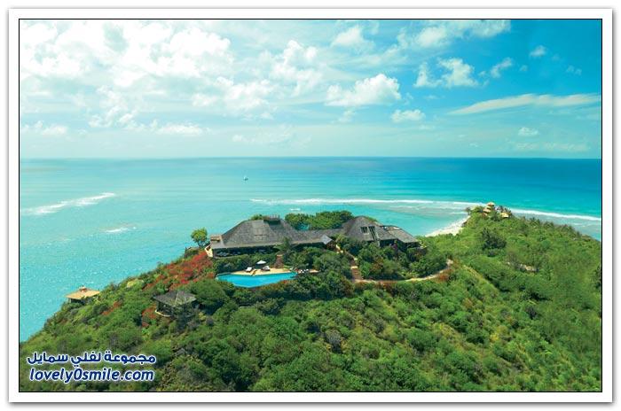 فندق نيكر آيلاند على جزيرة خاصة