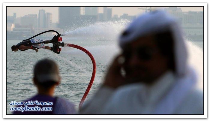 الألواح الطائرة في قطر