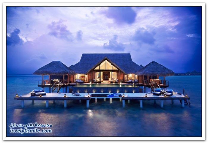 منتجع تاج إكزوتيكا في جزر المالديف