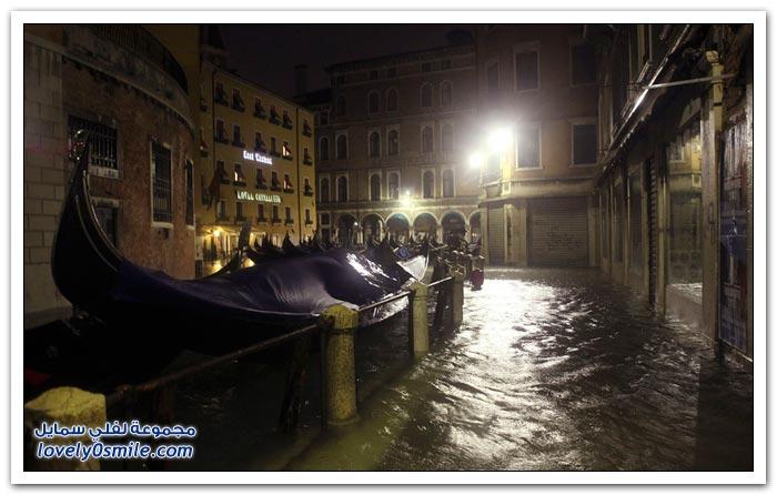 مدينة البندقية تغرق