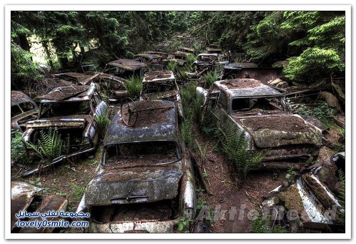 مقبرة السيارات في بلجيكا