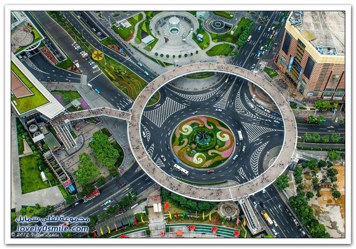 الدائري Circular-pedestrian-