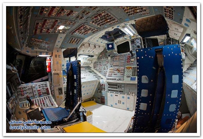 مقصورة القيادة لمكوك الفضاء إنديفور