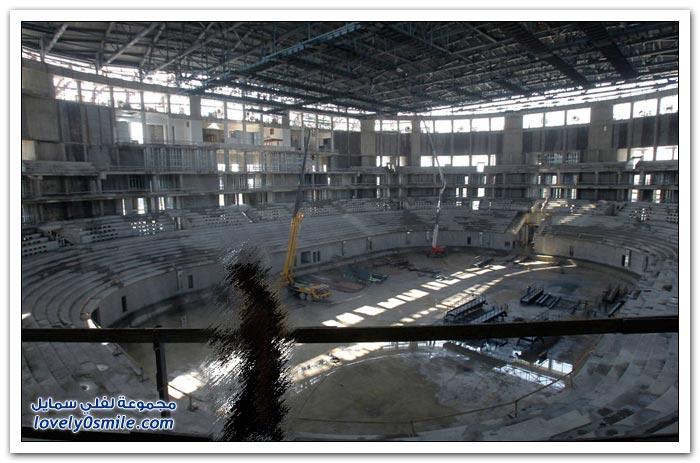 بناء الملاعب الاولمبية في سوتشي