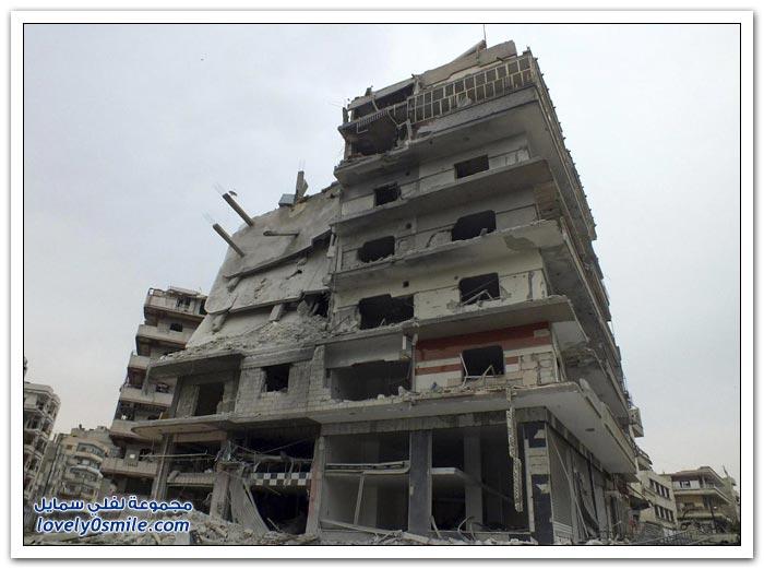 الدمار يغطي حمص