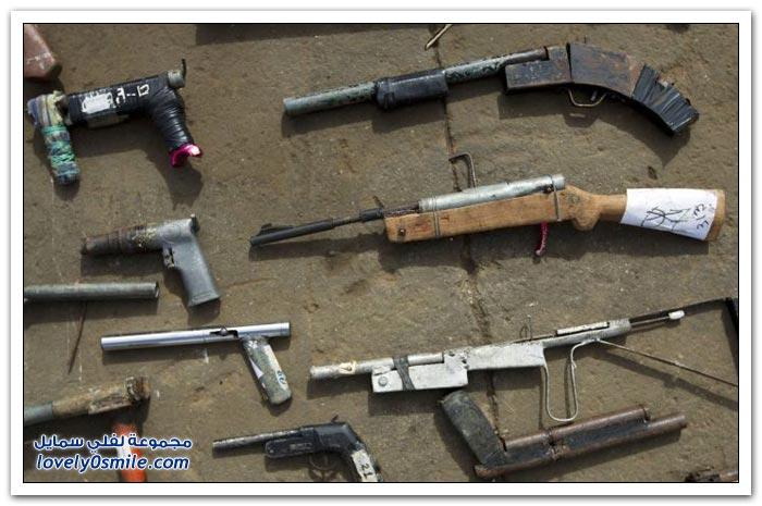 تدمير الأسلحة غير الشرعية في فنزويلا
