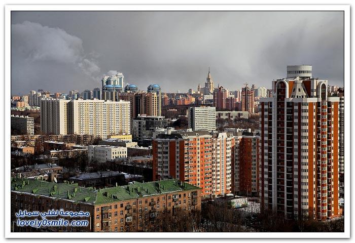 منازل النخبة والأغنياء في روسيا