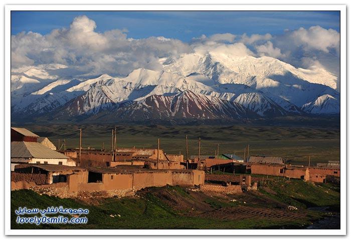 المناظر الطبيعية في قيرغيزستان