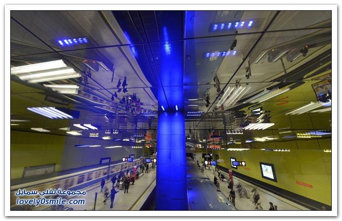 محطات مترو الأنفاق في أوروبا