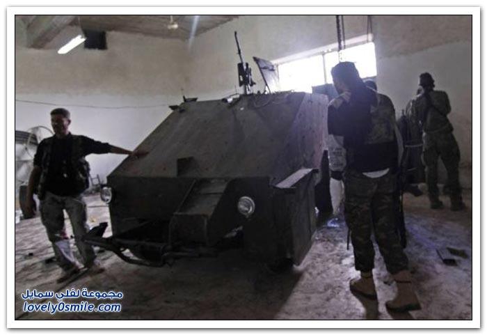 فخر الصناعة السورية الحربية والمدنية ( متجدد ) Tank-Made-free-Syrian-army-06