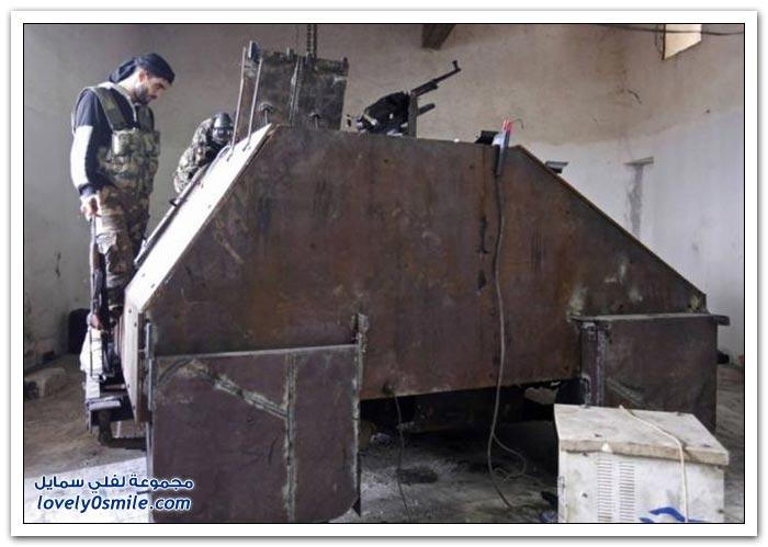 فخر الصناعة السورية الحربية والمدنية ( متجدد ) Tank-Made-free-Syrian-army-07