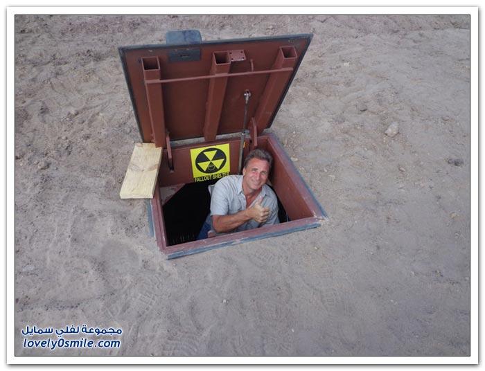 مخبأ تحت الأرض في ولاية كاليفورنيا