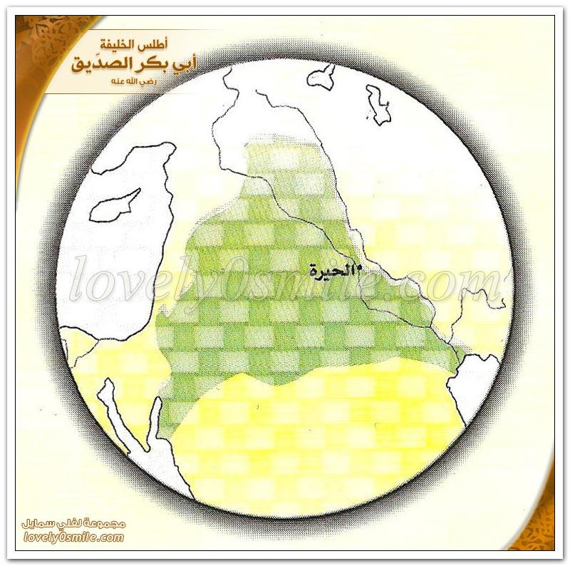 الفتوحات الإسلامية في عهد أبي بكر + مناوشات المسلمين الأولى مع الفرس