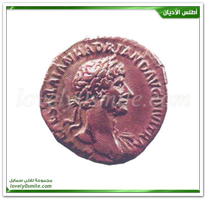 مسار القائد الروماني طيطس سنة 70م إلى قيسارية + هادريان الروماني