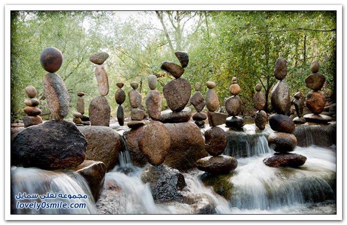 تحقيق التوازن بين الحجارة من غرابن مايكل