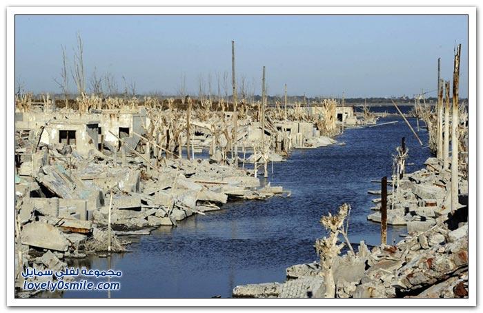فيلا إبيكوين المدينة الأرجنتينية الغارقة منذ 25 عاما