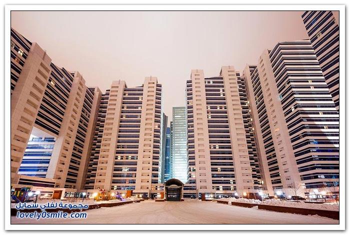مدينة أستانا وكأنها دبي كازاخستان