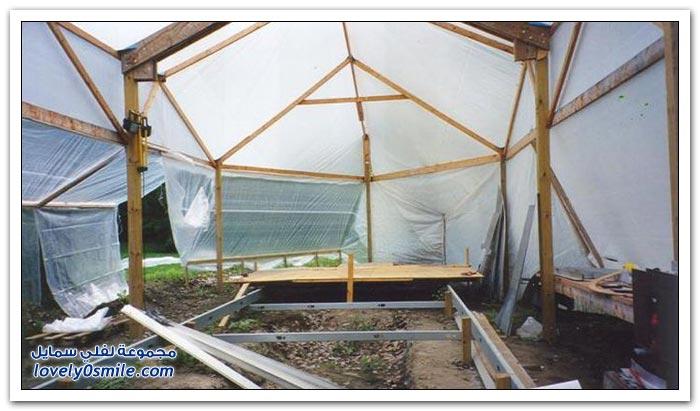 بناء قارب في المنزل من الألمونيوم وخشب الكرز