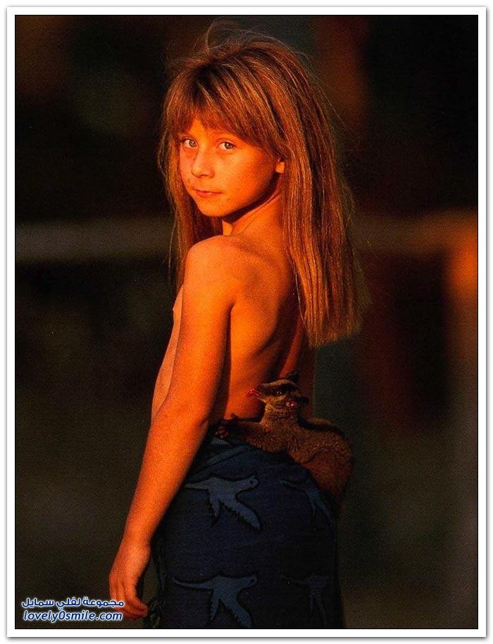 الطفلة تيبي صديقة الحيوانات البرية