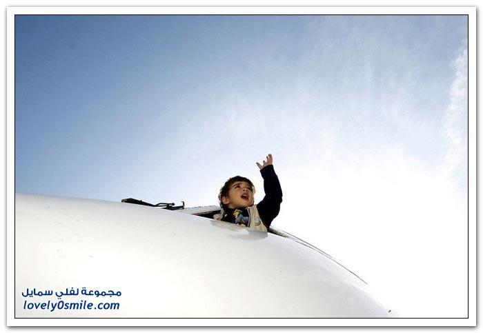 صور: تحويل طائرة قديمة إلى روضة أطفال