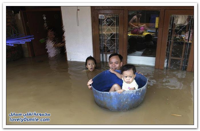 فيضانات جاكرتا
