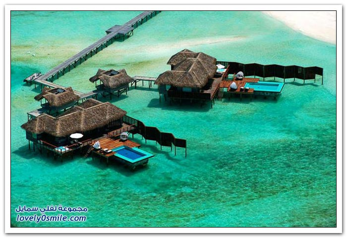 منتجع كونراد المالديف في جزيرة رانجالي