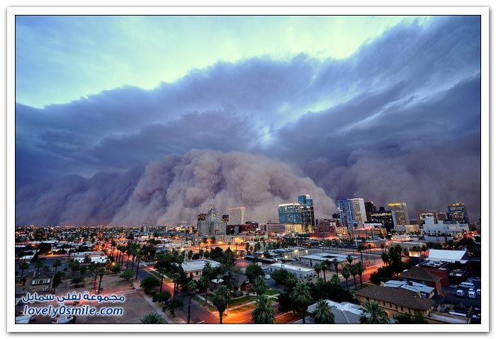 العواصف الرملية حول العالم