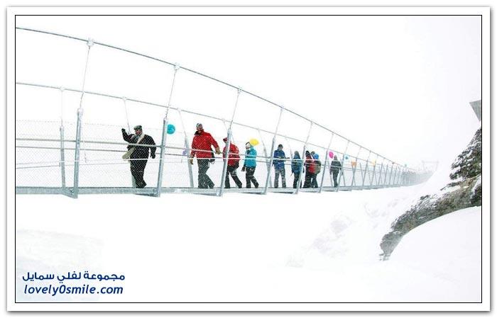 صور أعلى جسر معلق في أوروبا