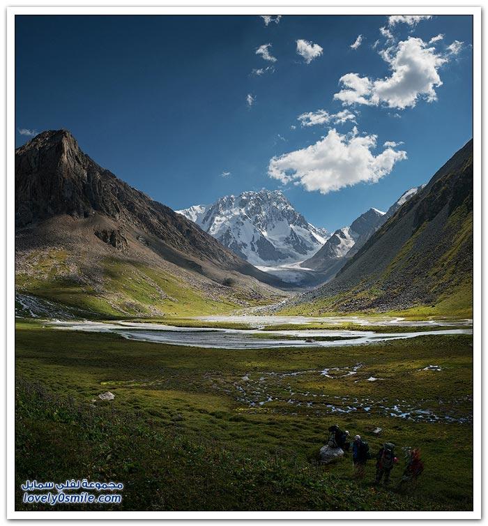 جولة على جبال قرغيزستان