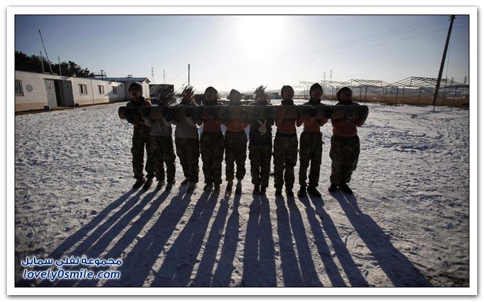 مخيم الشتاء للمراهقين في كوريا الجنوبية