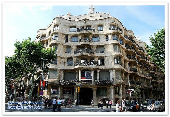 كازا ميلا في برشلونة