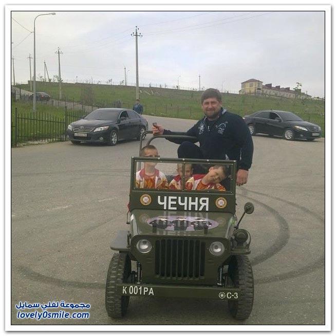 رمضان قديروف رئيس الشيشان
