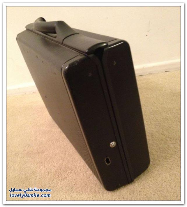 كمبيوتر على هيئة حقيبة