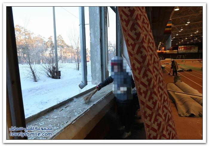 صور وفيديو لسقوط النيازك في روسيا