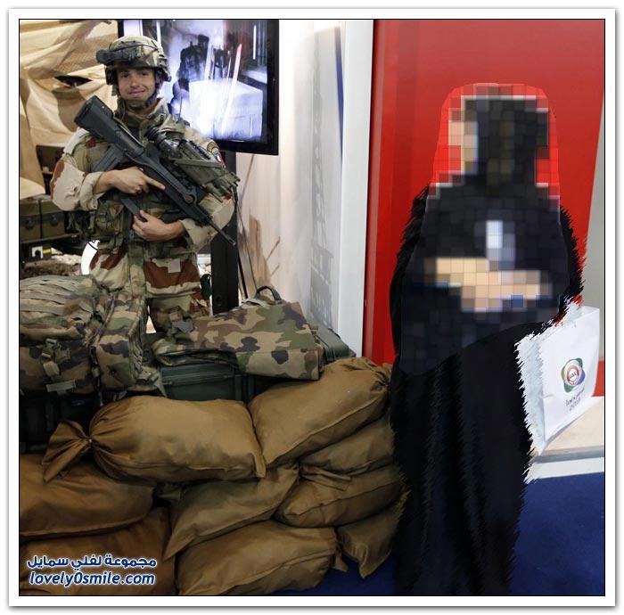 معرض الدفاع في أبوظبي 2013
