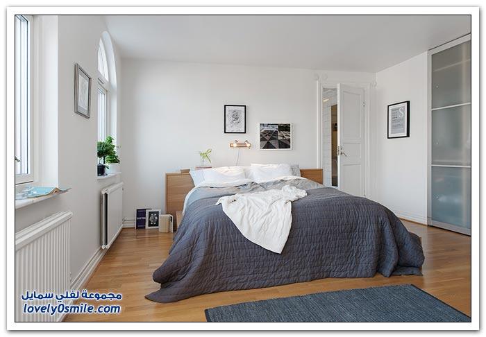 تصميم رائع لشقة من دورين في السويد