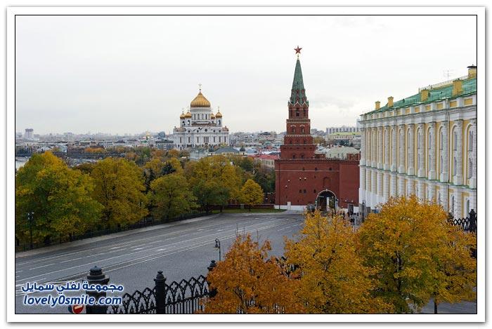 صور من قصر الكرملين في موسكو