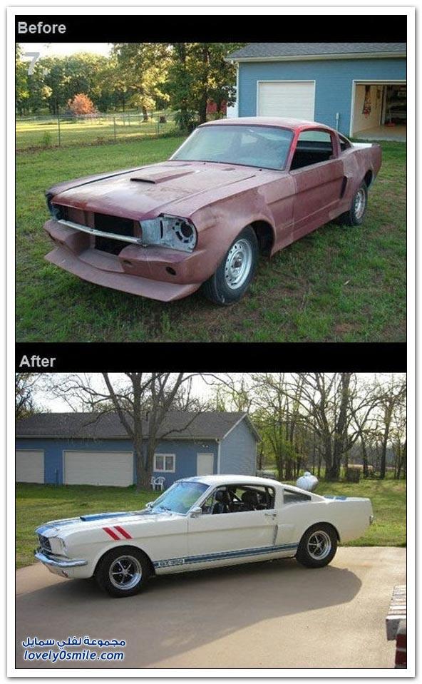 حياة جديدة لسيارات قديمة