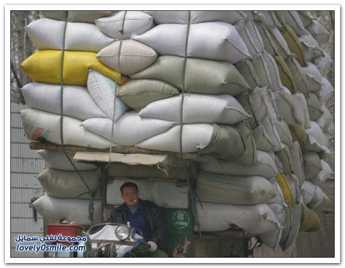 صور من أشكال النقل في الصين