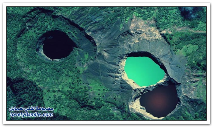 صور لفوهات البراكين الرائعة حول العالم