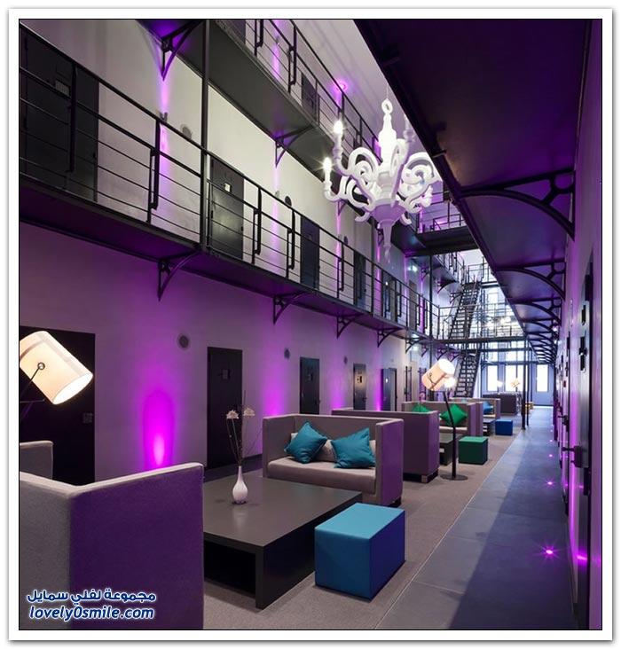 تحويل سجن قديم في هولندا إلى فندق فاخر