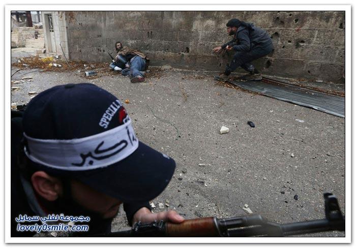 متى يقرر العالم انتهاء المجازر والدمار في سوريا