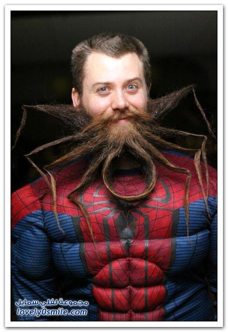 مسابقة اللحية العنكبوتية في ولاية نيو جيرسي