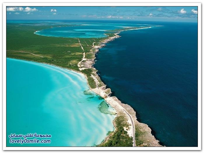 نقطة التقاء البحر الكاريبي والمحيط الأطلسي